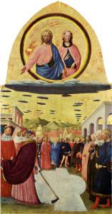 Miracle of the Snow: Foundation of Santa Maria Maggiore, Masolino